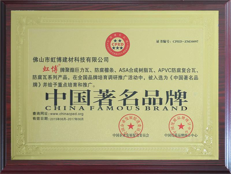 中国著名品牌2
