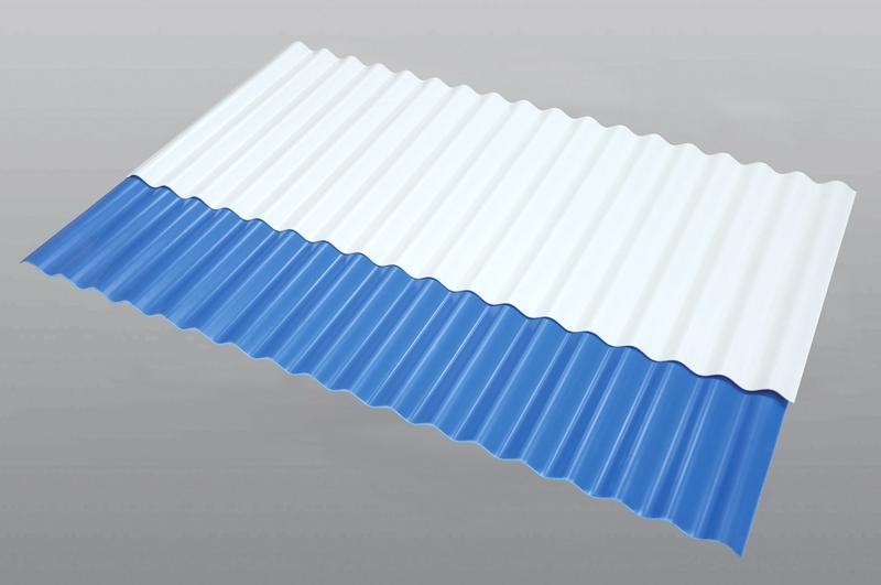 PVC防腐波浪瓦