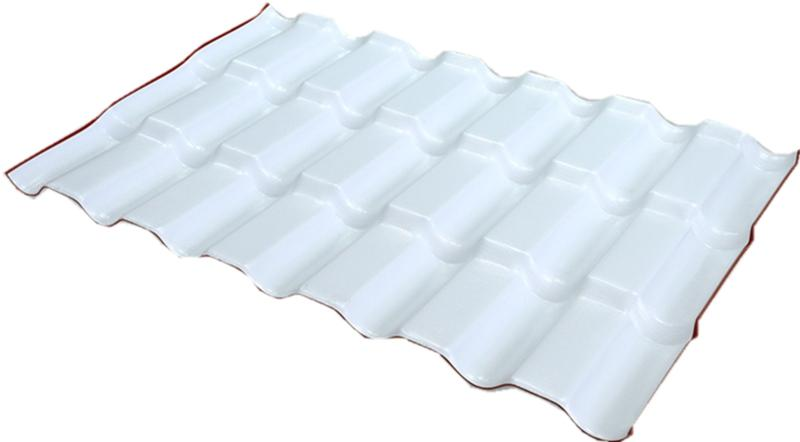 ASA合成树脂瓦三层树脂瓦(白底2)