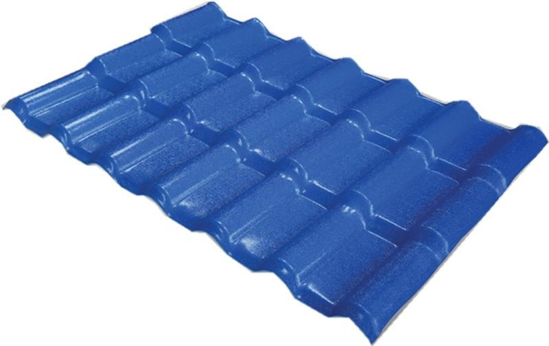 ASA合成树脂瓦(海洋蓝色)