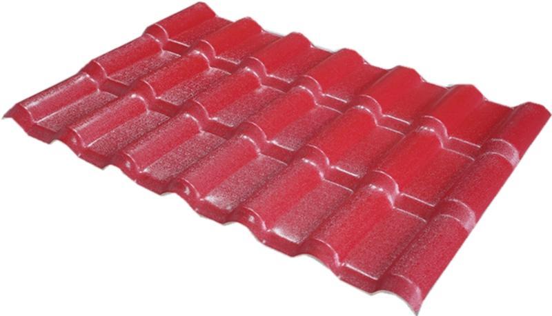 ASA合成树脂瓦(枣红色)