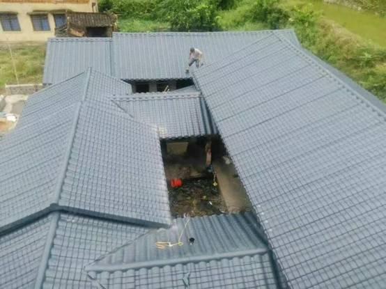 合成树脂瓦:屋面瓦行业的复古风
