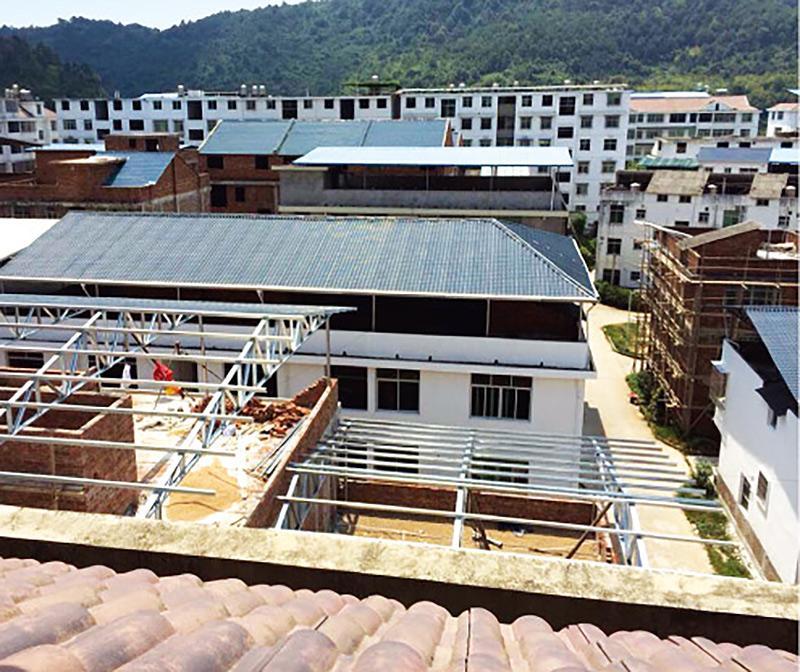 梅州农村平改坡工程一