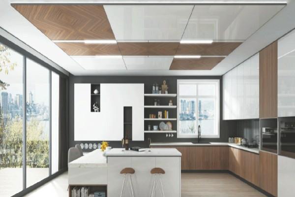 厨房适合用集成墙面吗?