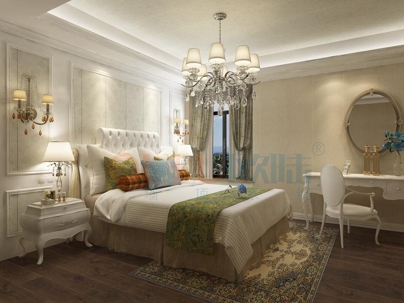 铝复合聚氨酯板卧室效果图6-全屋整装案例赏析效果图