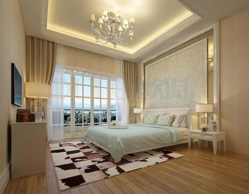 铝复合聚氨酯板卧室效果图11-全屋整装案例赏析效果图