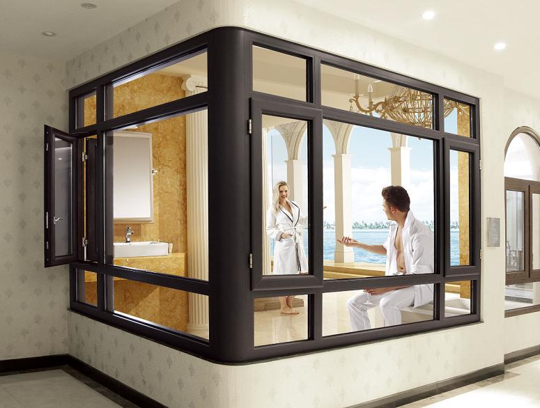 定制铝合金门窗有什么好处?