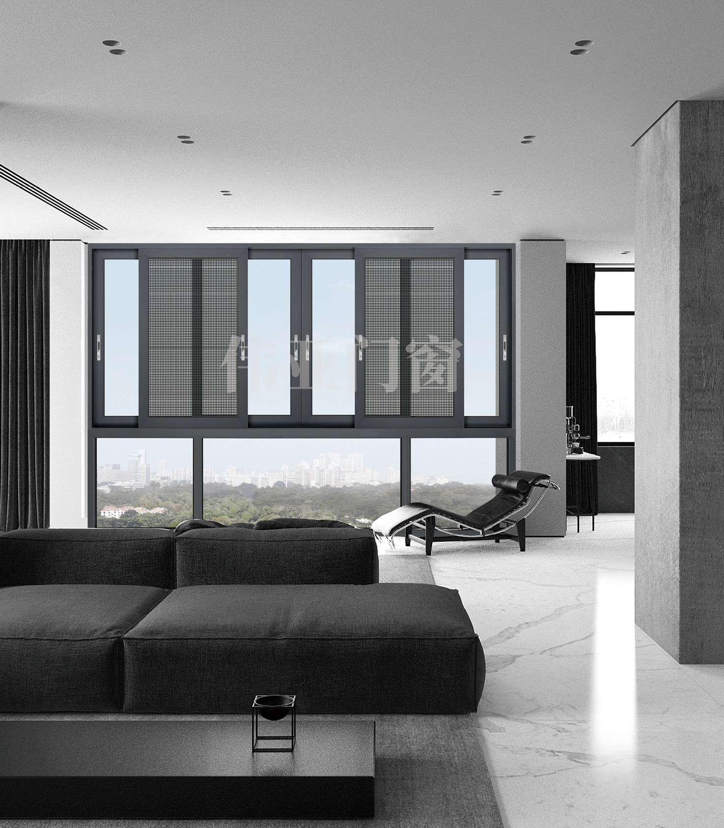 伟亚门窗丨慕尚系列断桥推拉窗,定制美好舒适生活