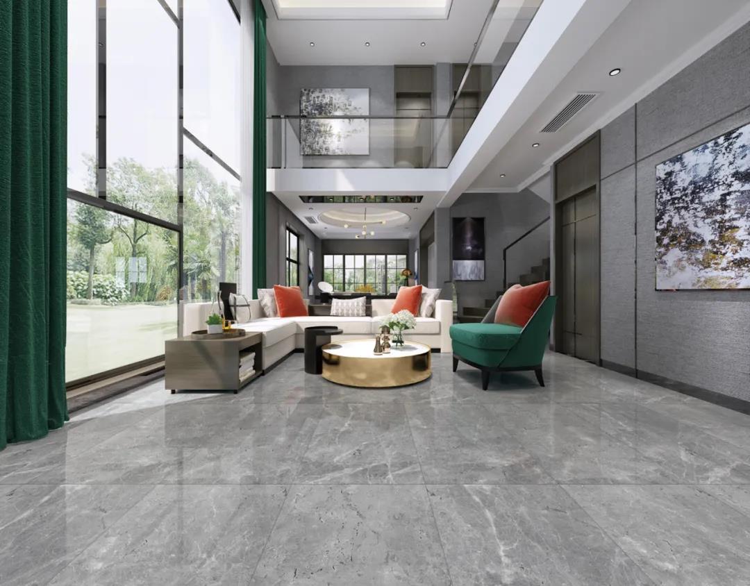 超流行的两种客厅装修风格,你一定要收藏——威廉顿陶瓷600×1200大规格系列