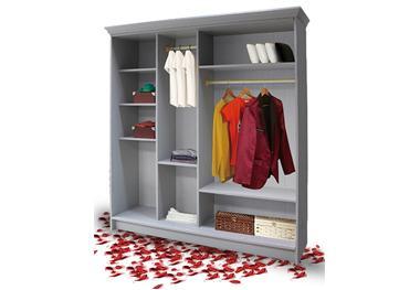全铝衣柜铝材:卧室衣柜是否该到顶?