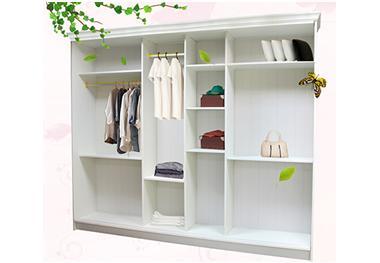全铝衣柜的组成部件与分类