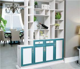 全铝橱柜铝材:整体橱柜安装是否需要背板