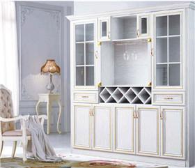 全铝家居的酒柜和木质的酒柜有什么区别?